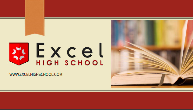 Cover of the Excel High School 2016 Brochure