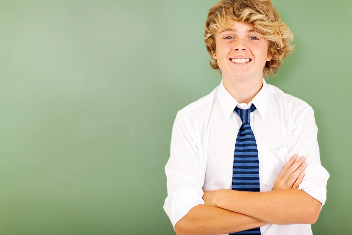 Online Middle School Student